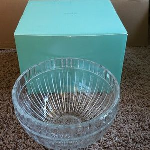 Tiffany and company glass bowl